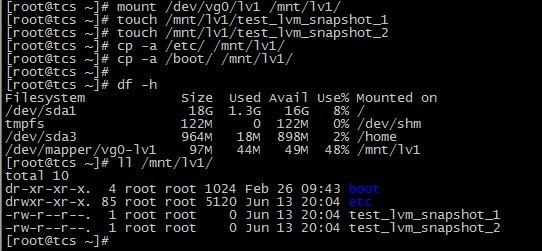 CentOS 6.3下配置LVM(逻辑卷管理)